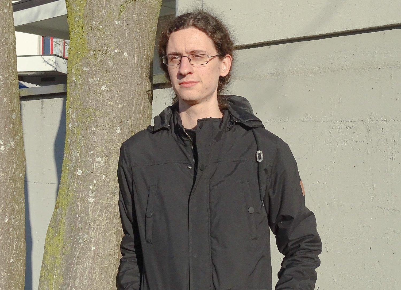 Trägt ausnahmsweise schwarz: Fabio Rainer.