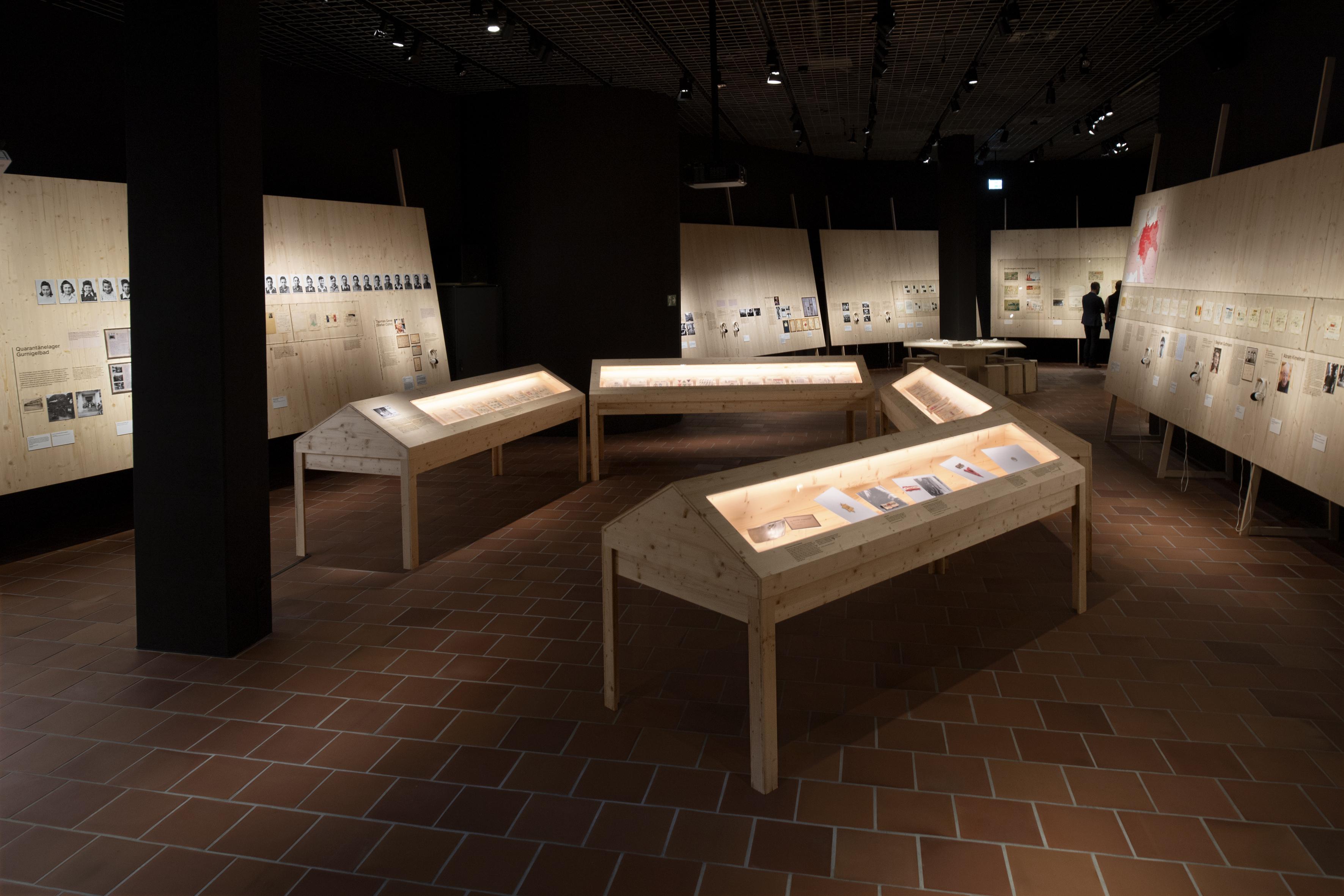 Blick in die Ausstellung. Foto: Regula Bearth, ZHdK