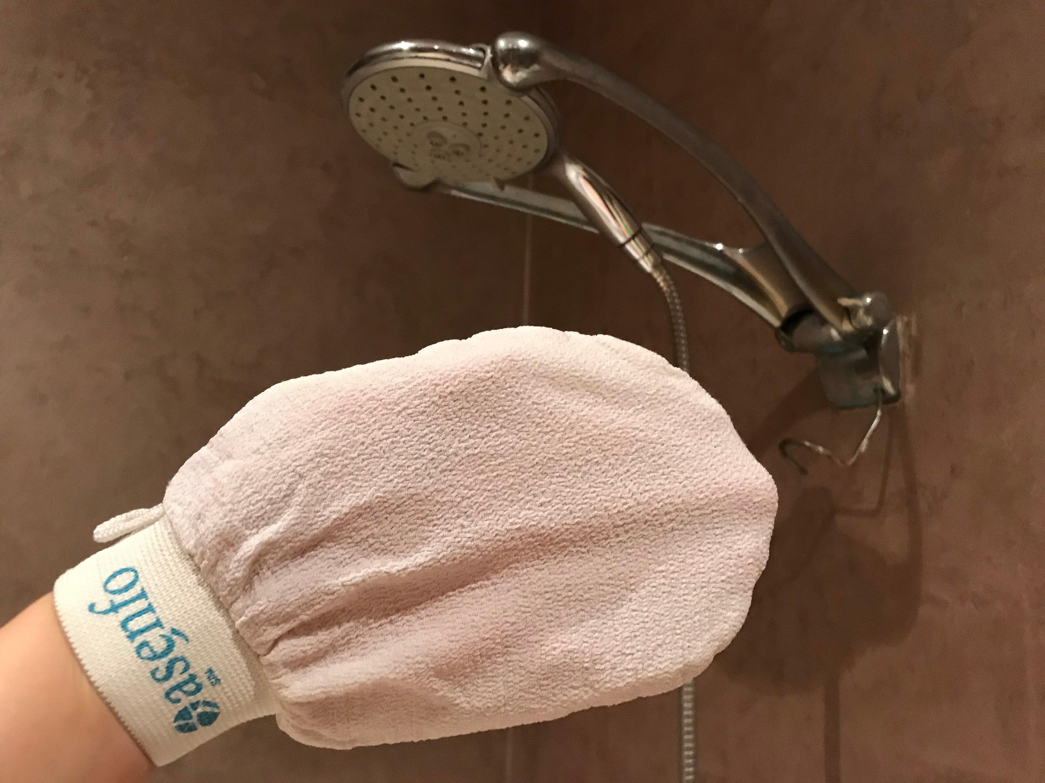 Der ominöse Rubbel-Handschuh