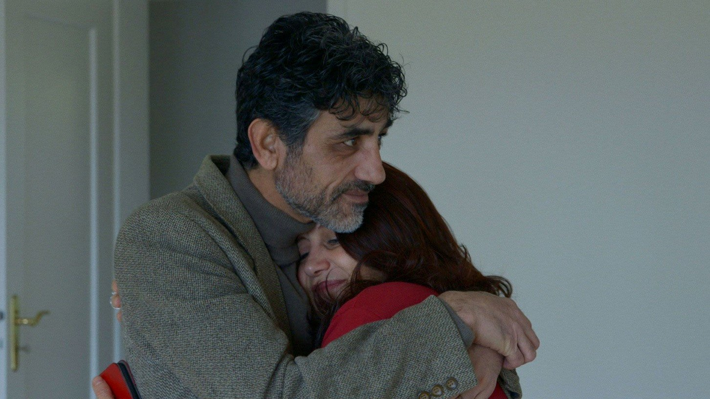 Amal Naser mit ihrem Mann