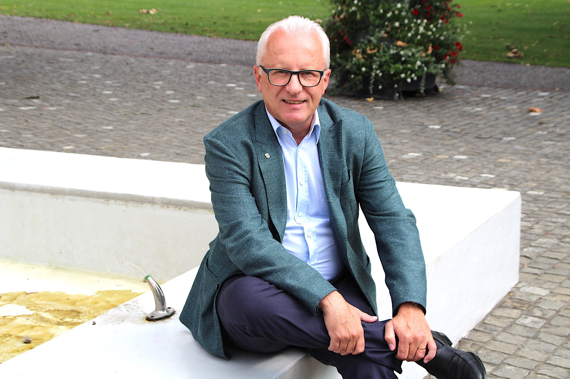 Baars Gemeindepräsident Andreas Hotz.
