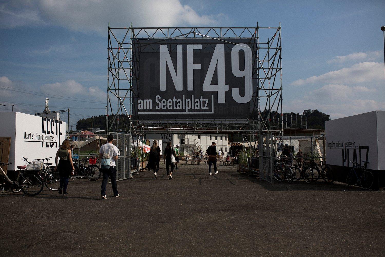 Diesen Samstag fand die Eröffnungsparty der Zwischennutzung auf dem Seetalplatz statt.