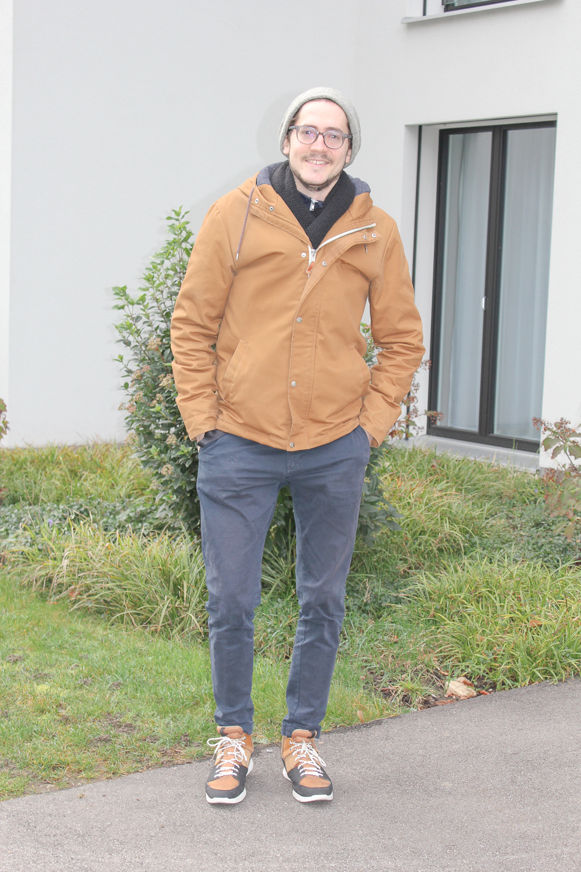 Frederic Siegel wohnt in Baar in einer modernen Neubausiedlung zusammen mit seinem Bruder.