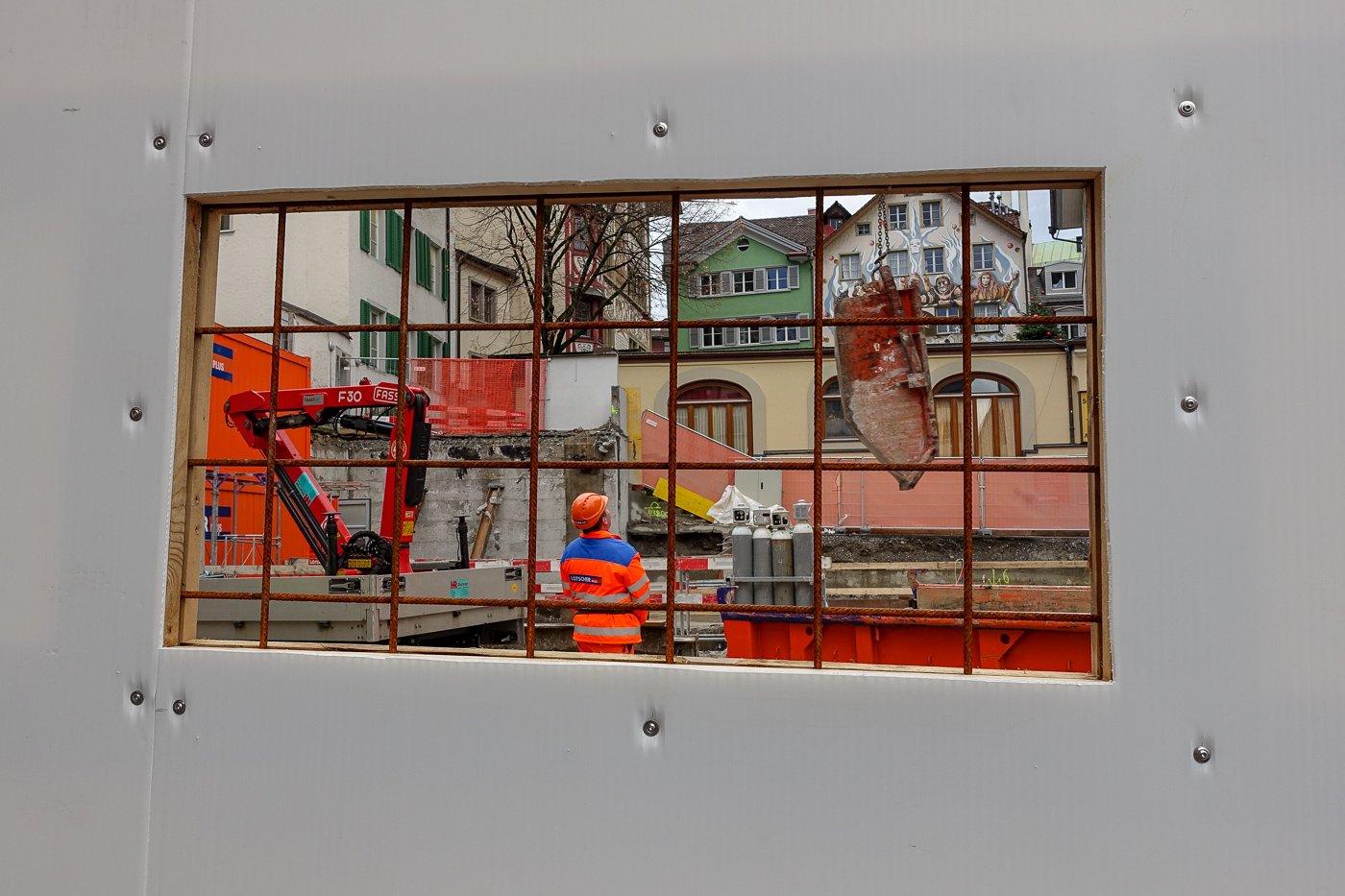 «Es galt gerade noch nicht als schützenswert»: Das Haus von 1962 am Kapellplatz wurde abgerissen.