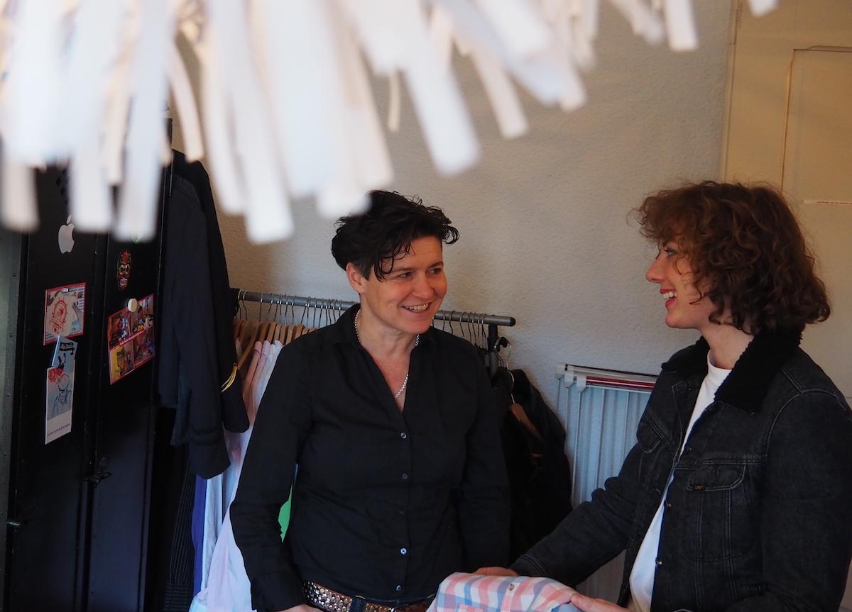 Bei den meisten Teilen sind sich Karin Willimann und Manuela Grisel einig.