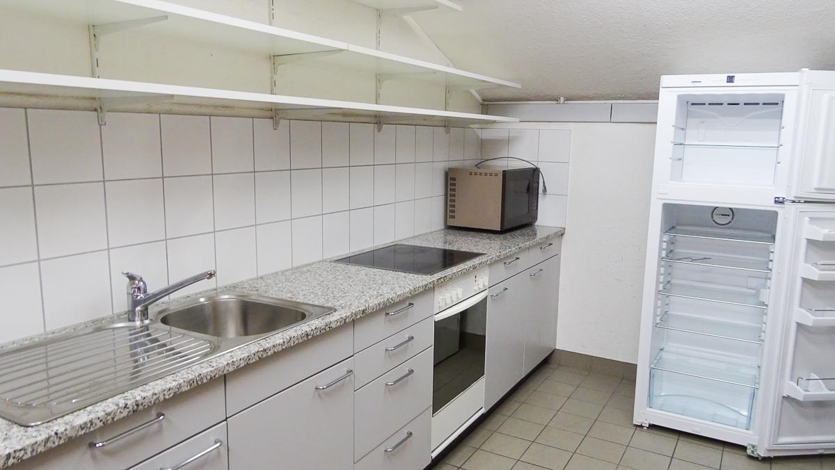 Die Küche, in welcher Roland Witschi für viele Jahre gewirkt hat.
