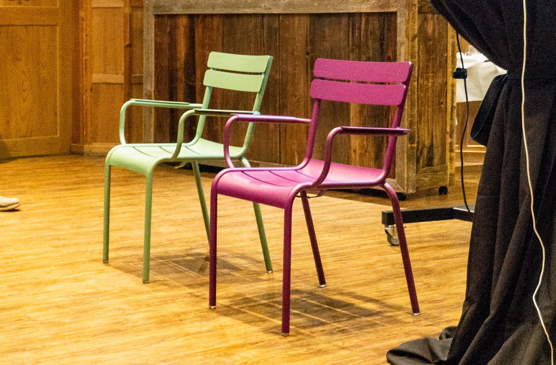 Ausruhen ohne Konsumzwang: 150 dieser Stühle stehen ab nächstem Sommer in der Stadt Luzern.