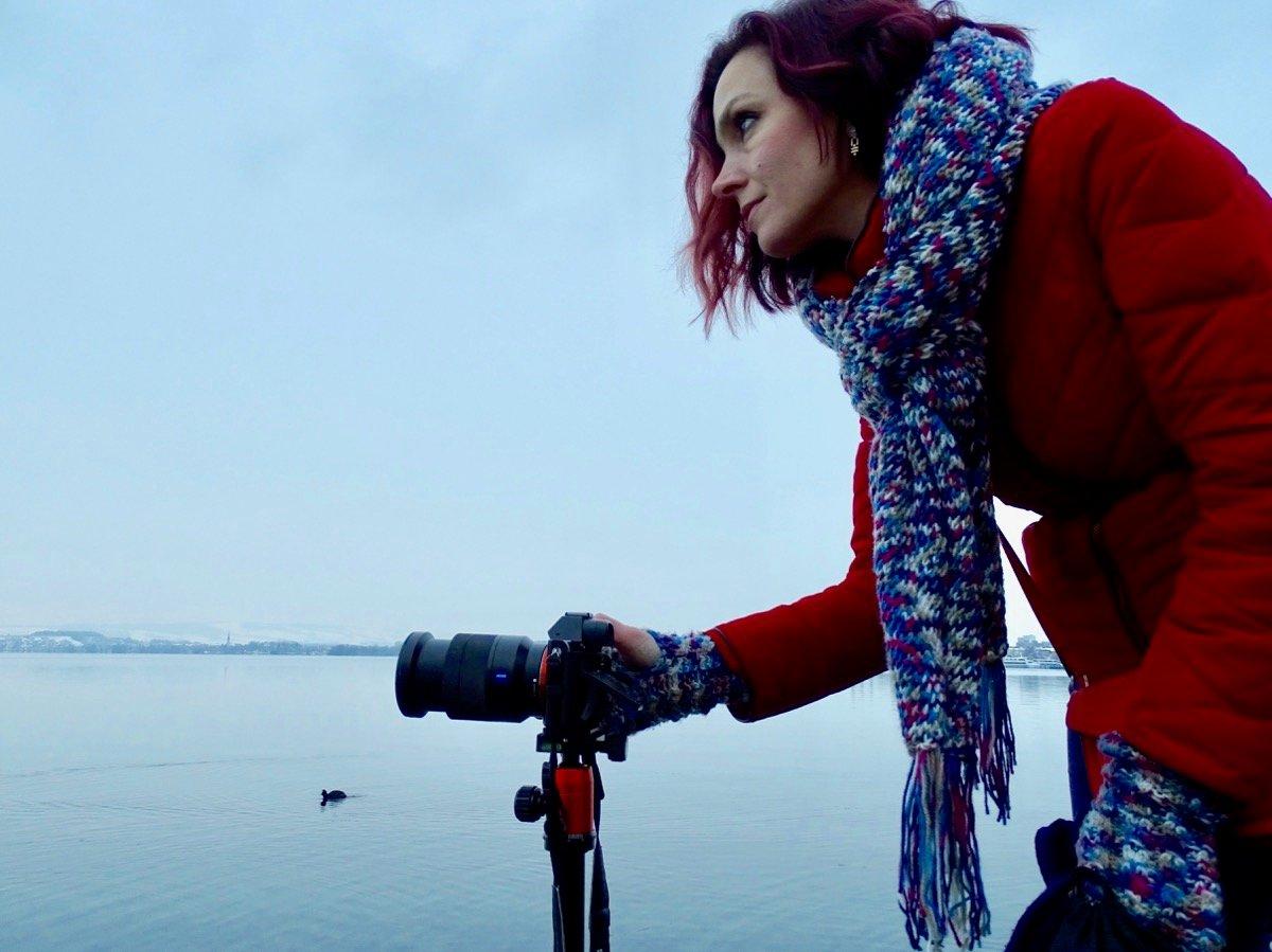 «Letztlich ist alles Geometrie», sagt Alexandra Bilisi über die Fotografie.