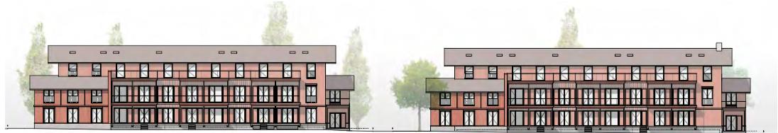 So sollen die neuen Mehrfamilienhäuser an der Aabachstrasse aussehen.