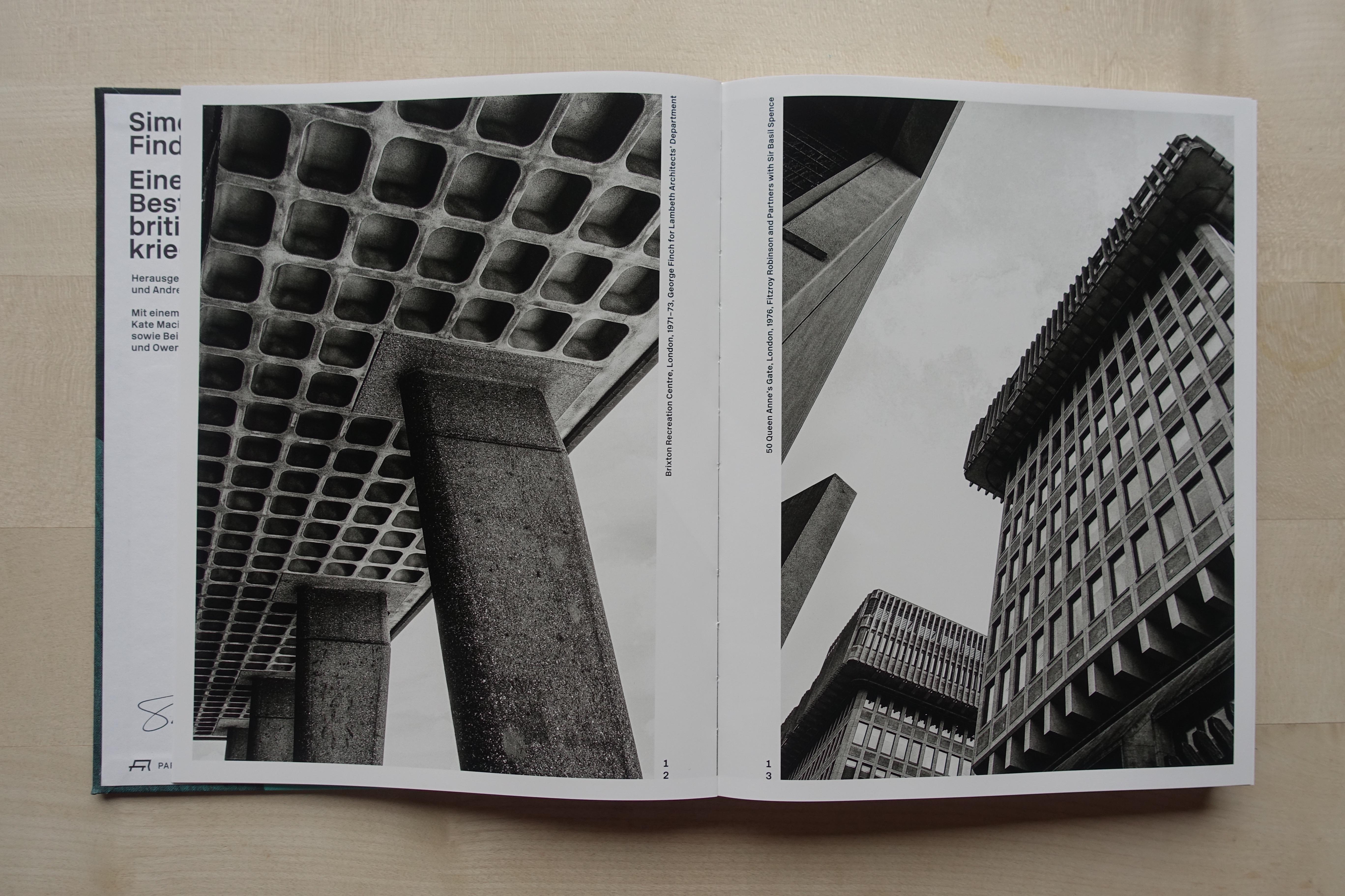 Katalog Simon Phipps, Bildseite (Foto: Gerold Kunz)