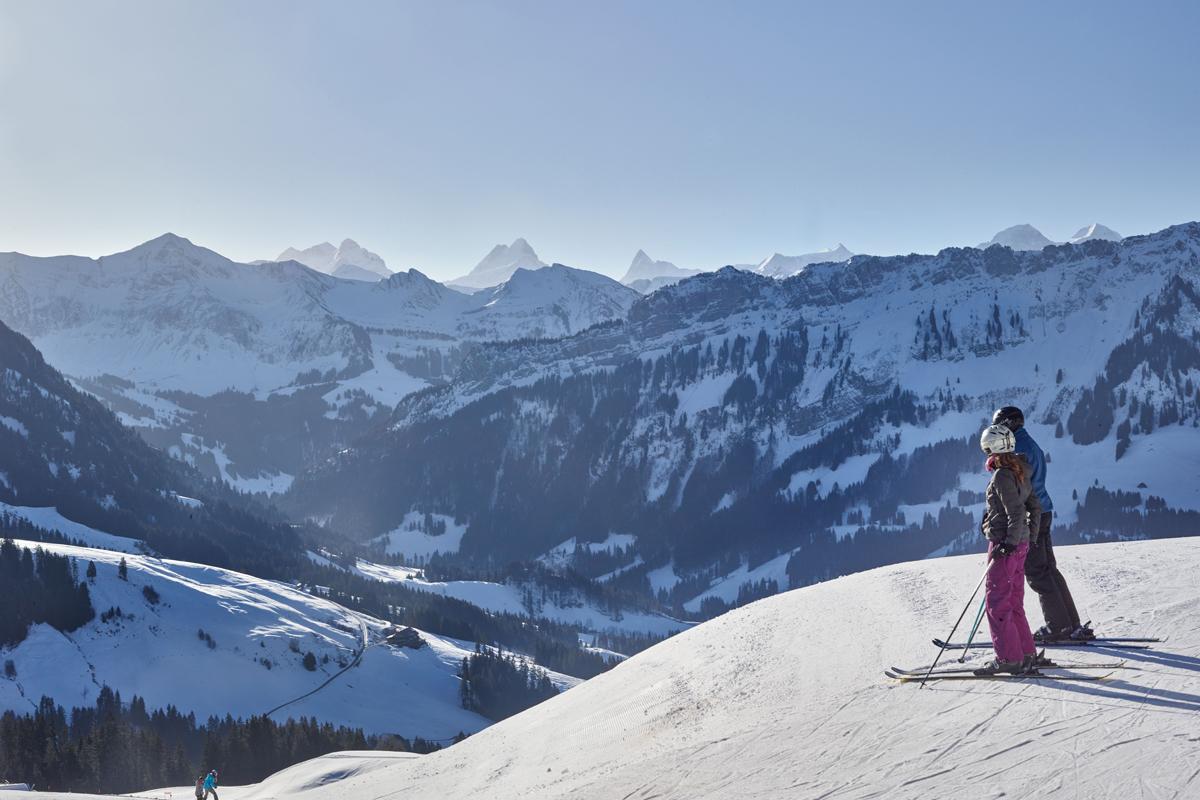 Unterwegs im Skigebiet der sonnenverwöhnten Marbachegg – in jeder Hinsicht ein Genus