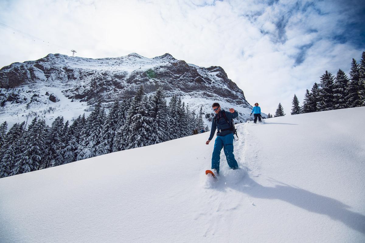Schneeschuh–Erlebnis mit anschliessendem Pilatus Fondue