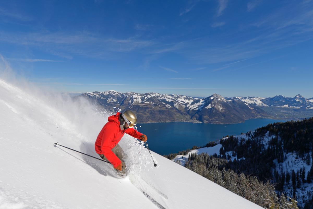 Winterlandschaft Klewenalp–Vierwaldstättersee