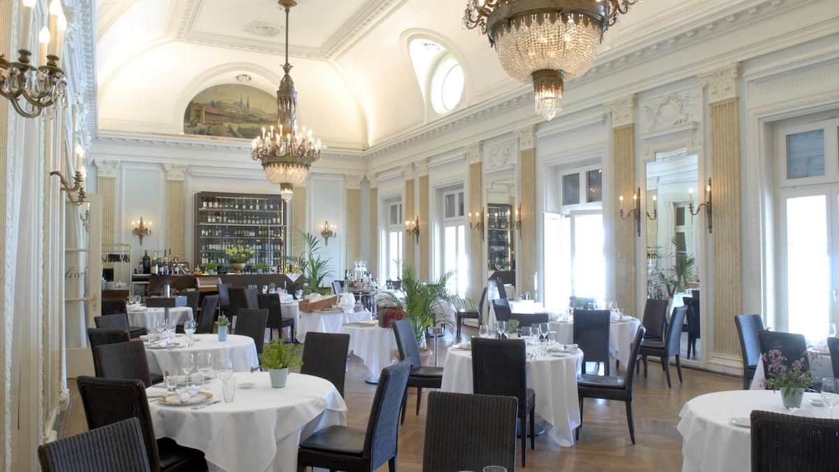 Das Restaurant Olivo im ersten Stock des Casino Luzern.