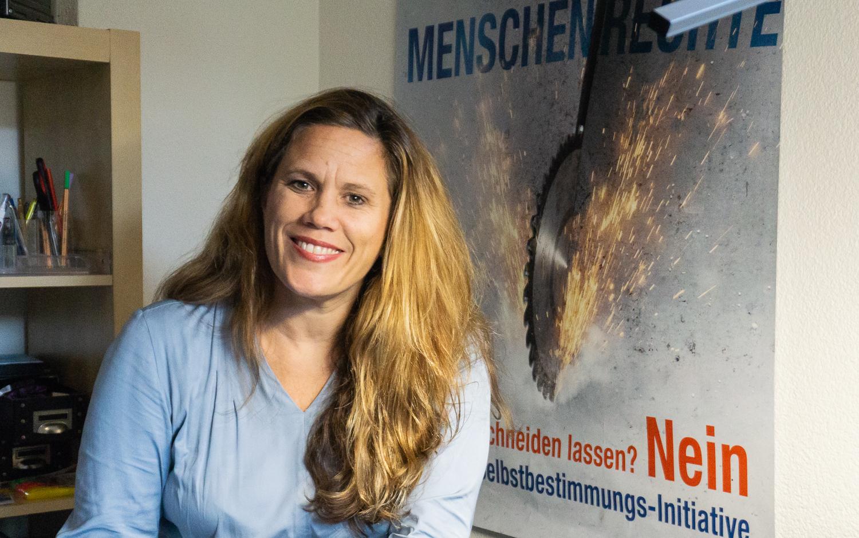 Die Luzernerin Andrea Huber engagiert sich im Kampf um die Menschenrechte.
