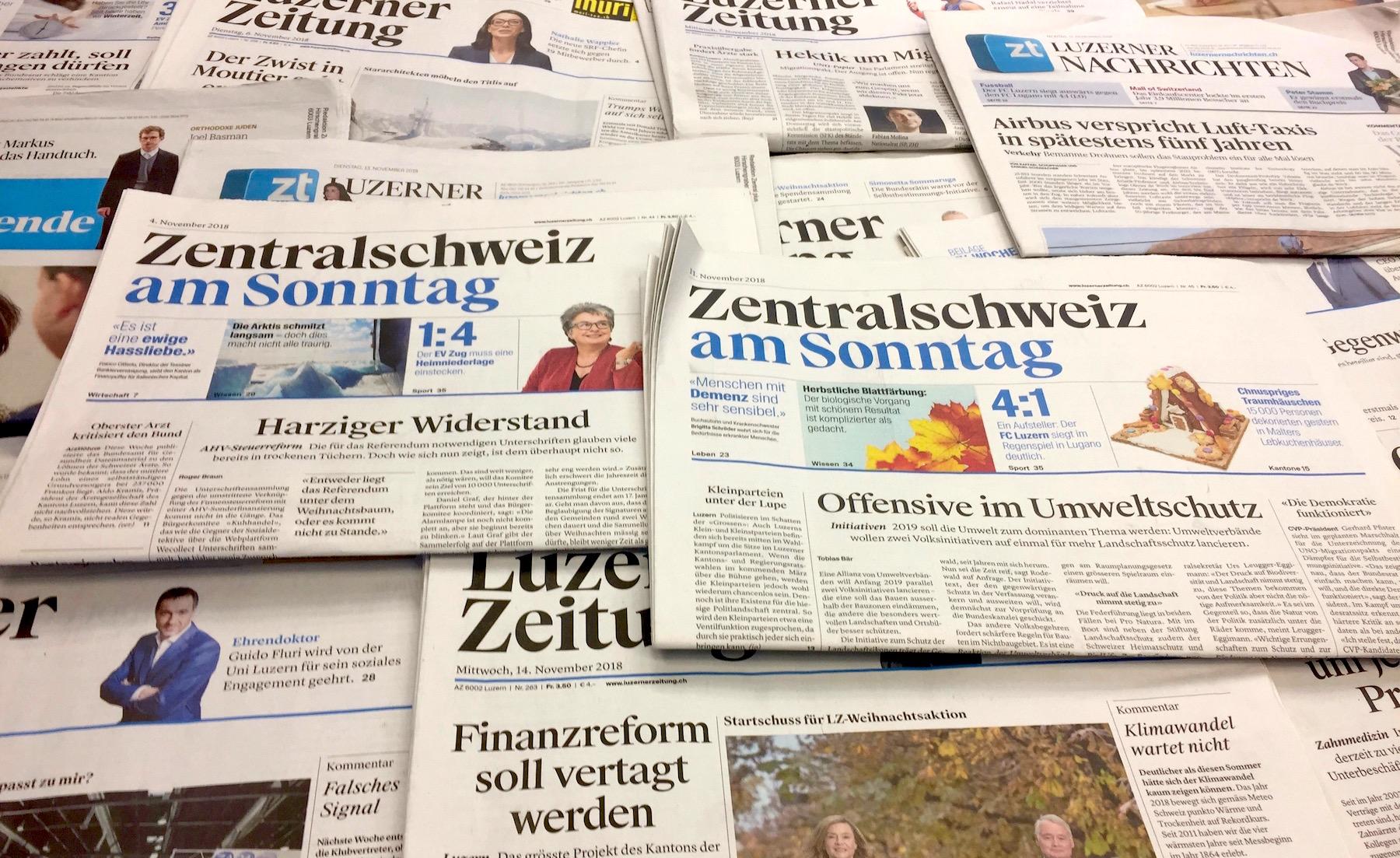 Angst geht um: Der Medienkonzern «CH Media» will in seinen Redaktionen 200 Stellen abbauen.