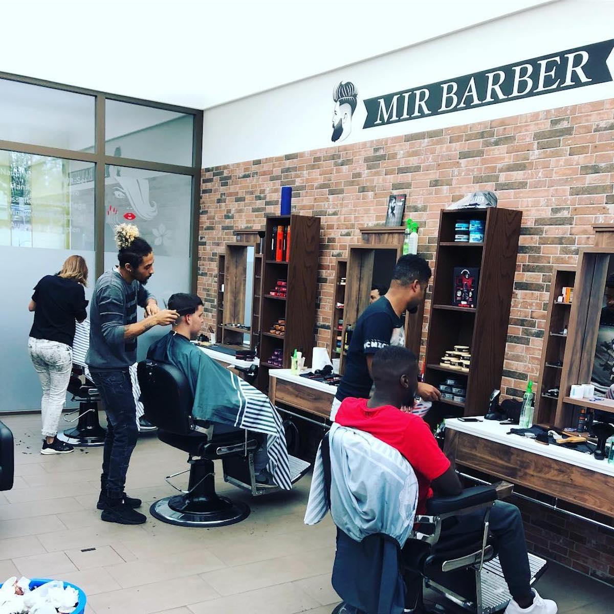 Der Barbershop von Ridauro Carvalho ist gut ausgelastet.