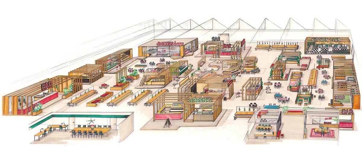 So ungefähr könnte die Markthalle aussehen, die in diesem Jahr eröffnet wird.
