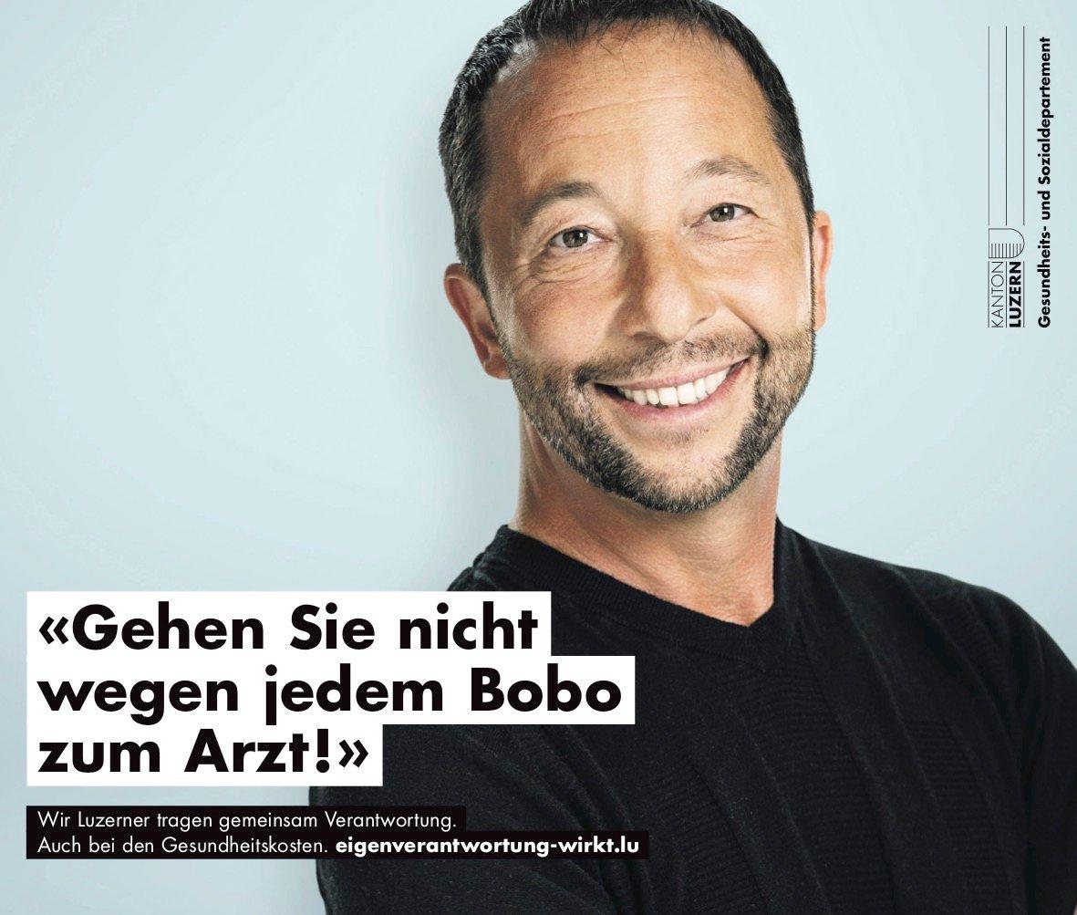 DJ Bobo in der neuen Kampagne.