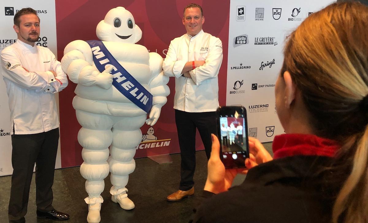 Chefs unter sich: Das Michelin-Mannli war begehrt bei den Köchen.