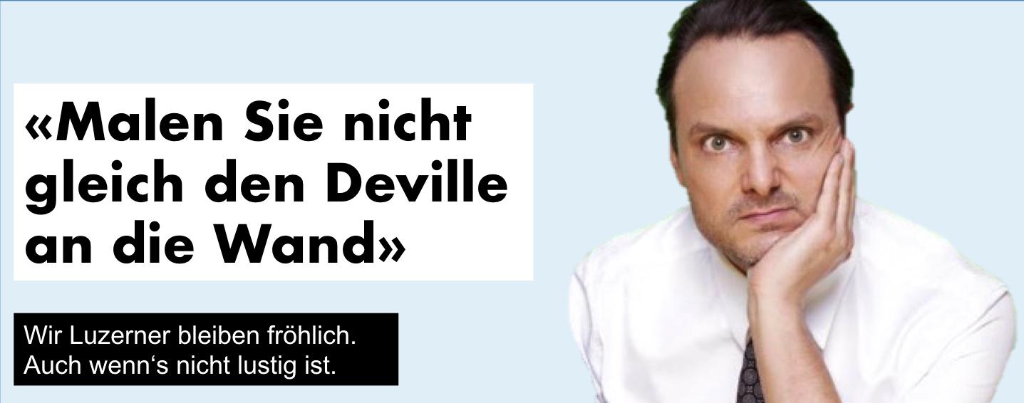 Late-Night-Talker Dominic Deville.