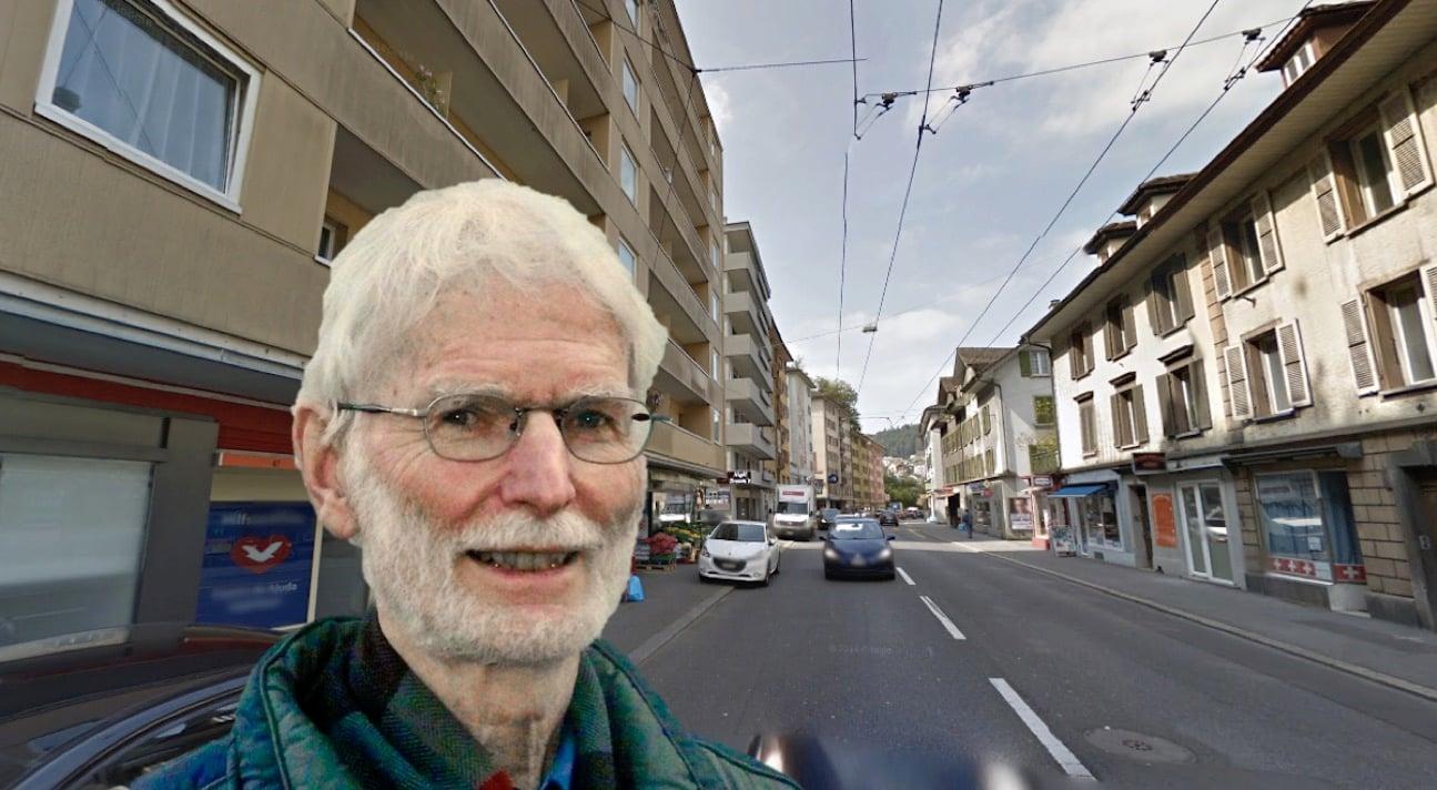 Sein Quartier hat noch viel Luft nach oben: Josef Moser, Präsient von Babel.