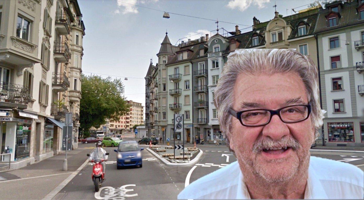 Die 30er-Zone hat viel zur Lebensqualität in der Neustadt beigetragen: Quartierpräsident Markus Schmid ist entsprechend zufrieden.