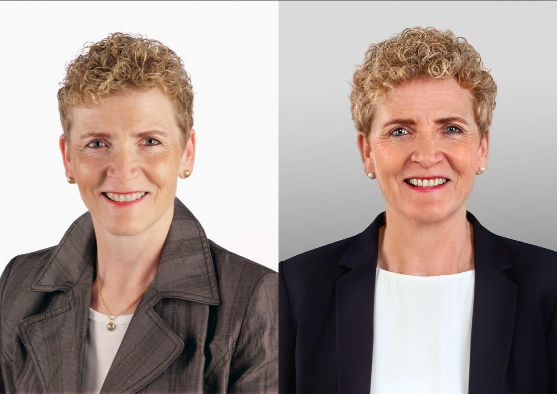 Kantonsrätin Monika Barmet vor zehn Jahren und heute.