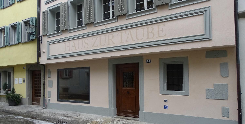 Das Restaurant Taube in der Zuger Altstadt erwacht zu neuem Leben.