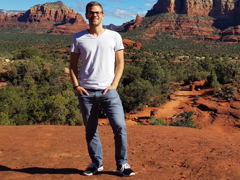 Christoph Iten ist in seiner Freizeit oftmals in der Natur anzutreffen – ob hierzulande oder anderswo.