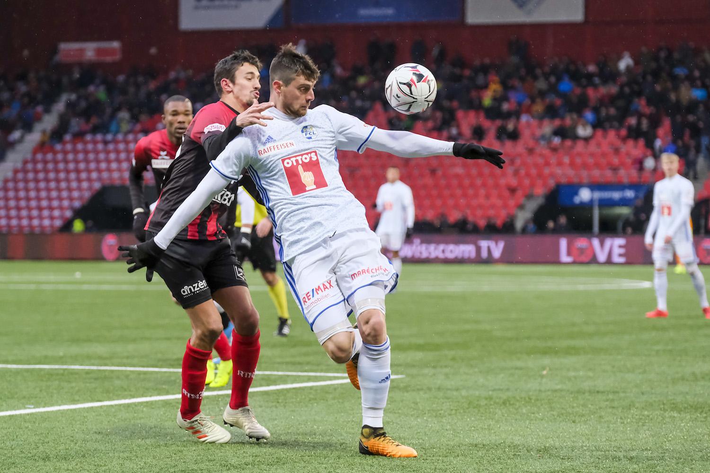 Tomi Juric stand beim Rückrundenauftakt des FC Luzern gegen Neuchatel Xamax auf dem Platz.