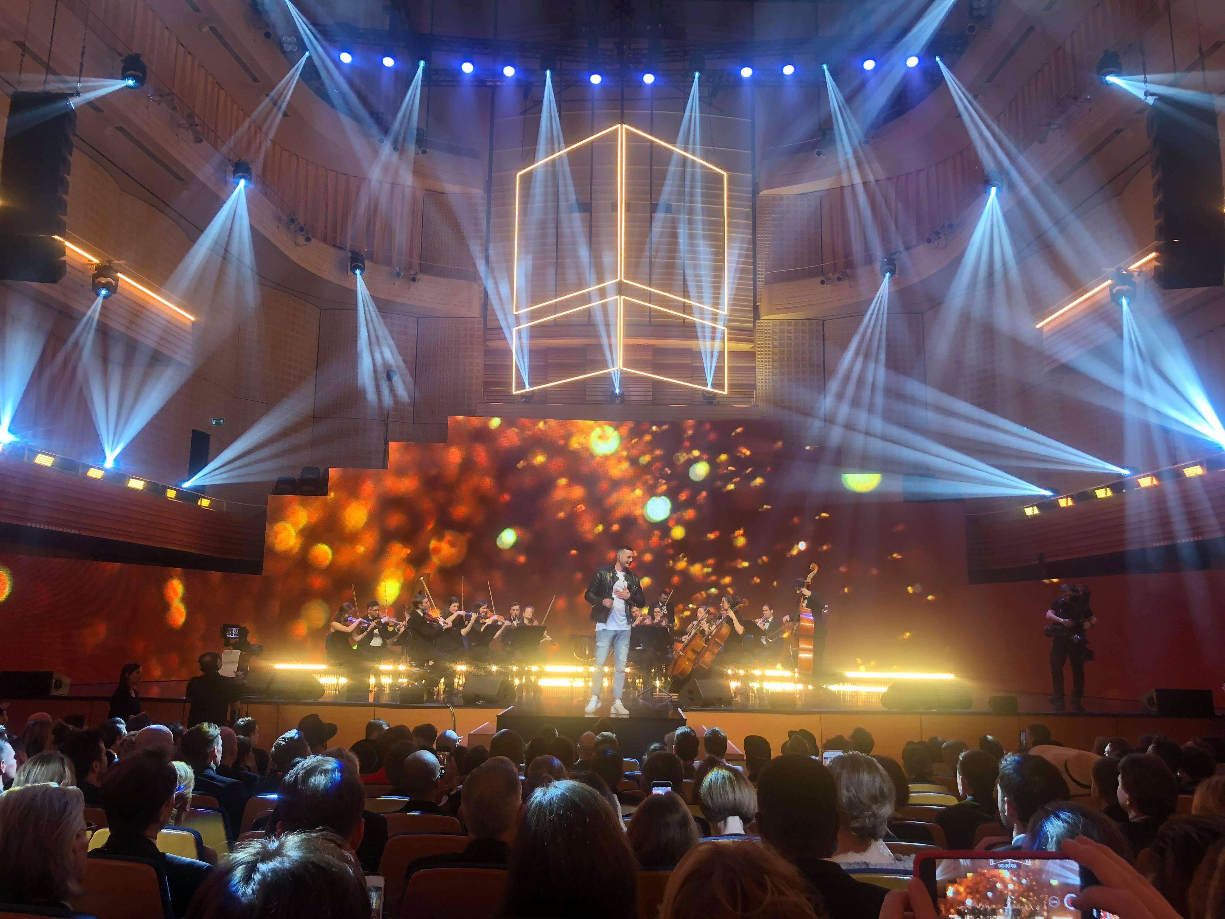 Die Riesenüberraschung kam wohl erst gegen Ende: Loco Escrito räumt den Award für den «Best Hit» ab.