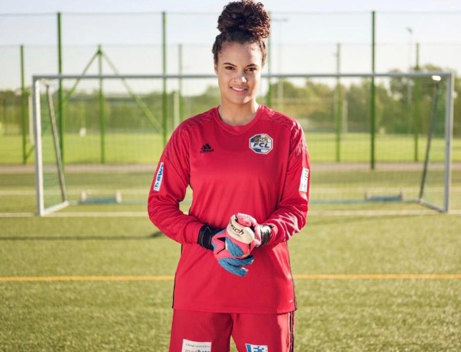 Natascha Honegger hütet das Tor der FCL Spitzenfussball Frauen.