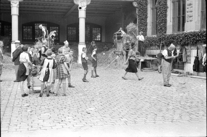 Ein Bild von der Mobilmachung in Luzern 1939