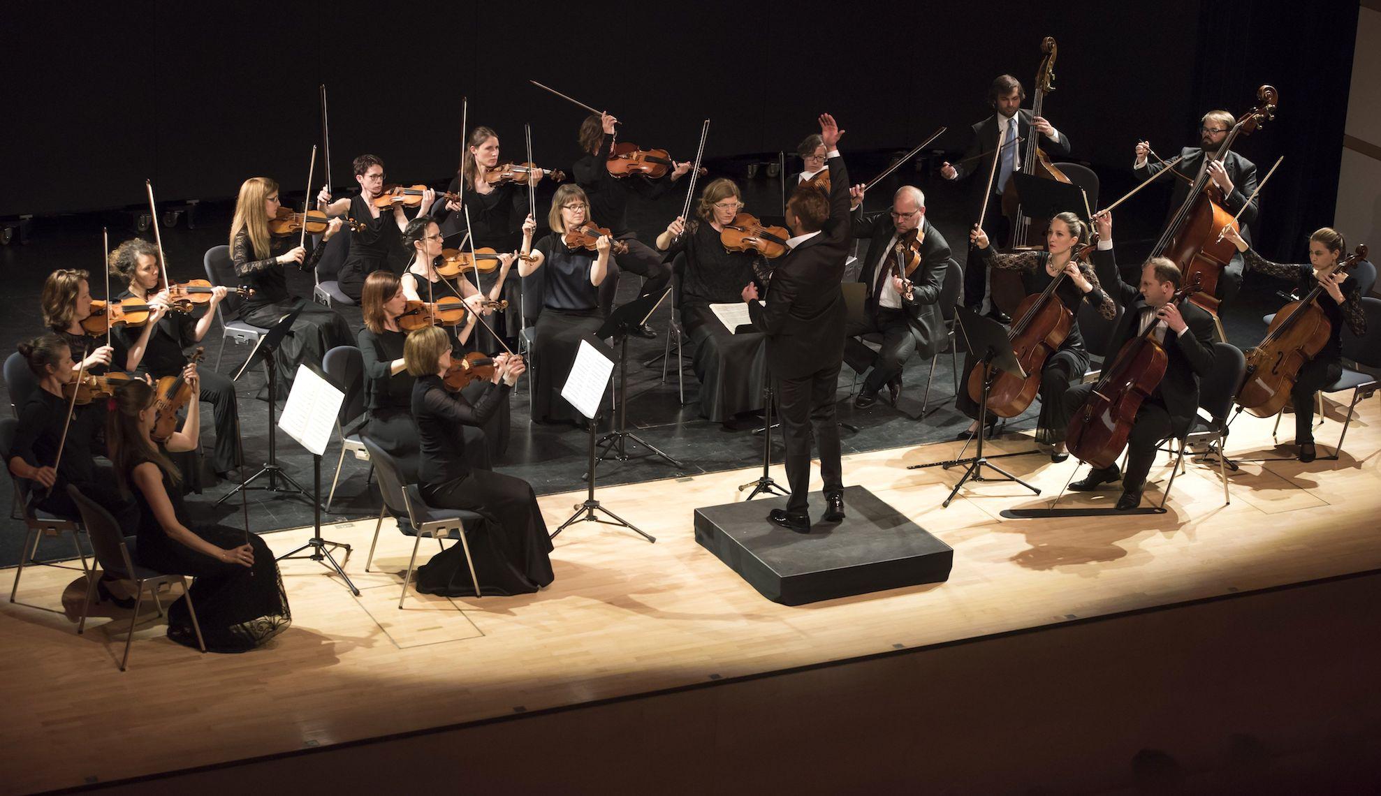 Entfesselt: die Zuger Sinfonietta.