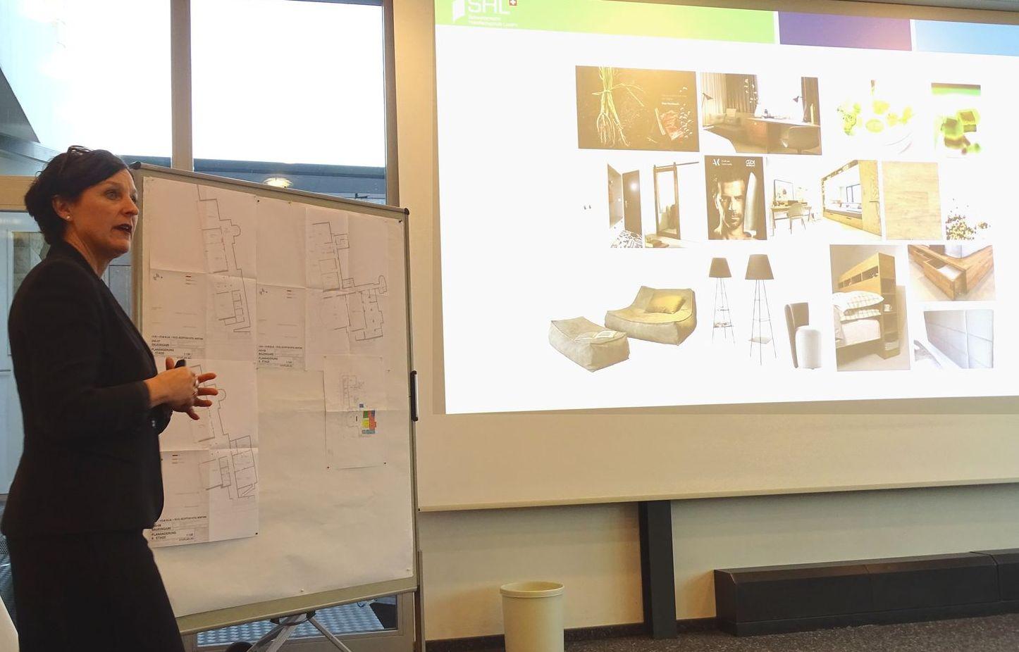 Die Zimmer der Studenten sollen laut SHL-Direktorin Christa Augsburger bald Hotel-Standard aufweisen.
