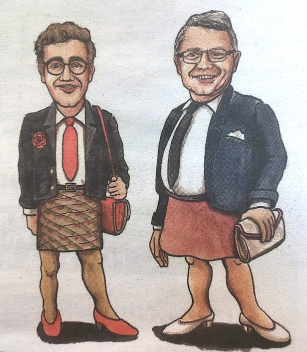 «Jörgina Meyer» und «Davida Roth».