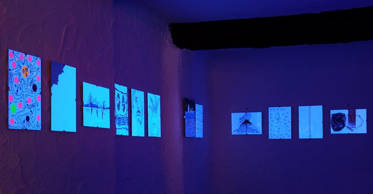 Soll auch als Kulisse einer blauen Bar dienen: dieAusstellung «Ahoi Carneval».