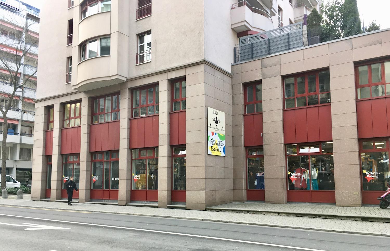 Der Fasnachtsbazar an der Luzerner Bireggstrasse.
