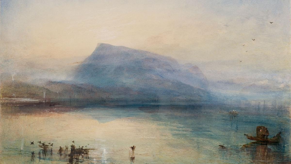 Turner. Das Meer und die Alpen