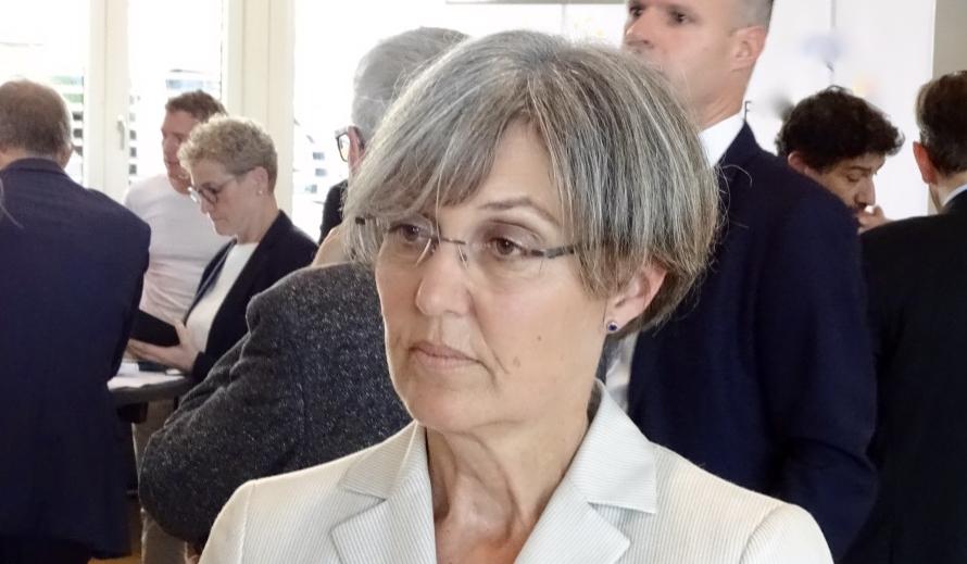 Silvia Thalmann-Gut (CVP) aus Oberwil ist künftig die einzige Frau im Zuger Regierungsrat.