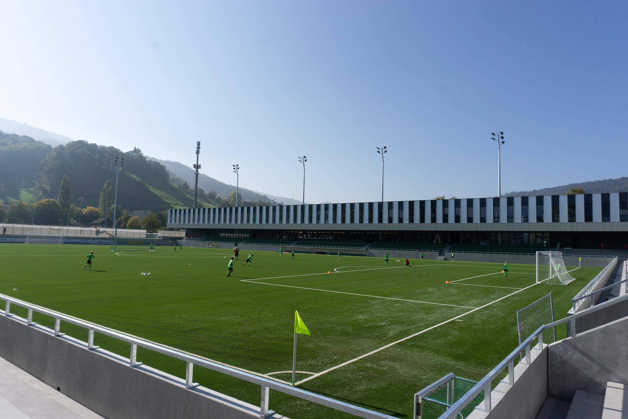 Im Krienser Kleinfeld werden am Freitag gegen Kroatien und am Montag gegen Italien gegen 3000 Besucher erwartet.