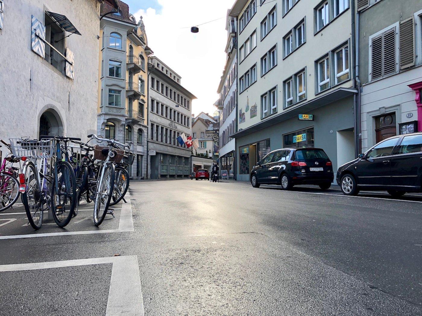 Die Pfistergasse soll aufgewertet werden und eine Pflästerung wie in der Kleinstadt erhalten.