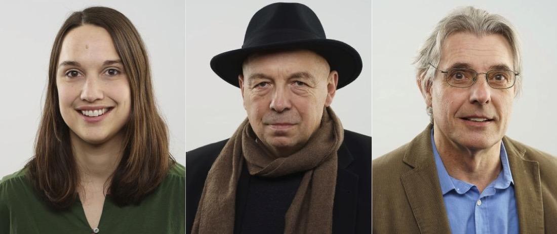 Rahel Estermann, Hans Stutz und Urban Frye vertreten die Grünen im Luzerner Kantonsrat.