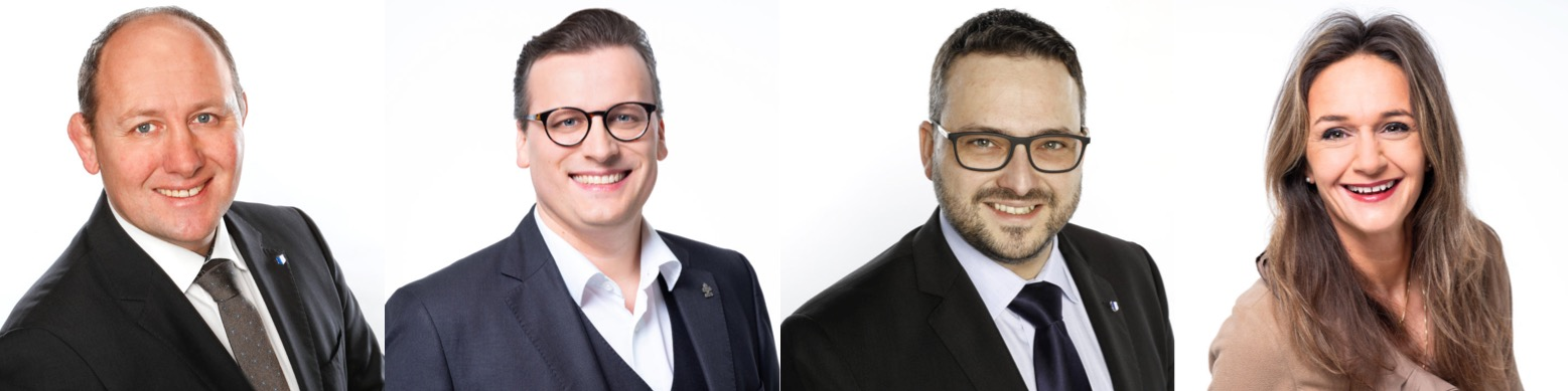 Für die SVP sitzen Dieter Haller, Pirmin Müller, Thomas Schärli und Lisa Zanolla im Kantonsrat.