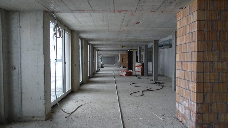 Hier wird ein Grossraumbüro für die abl selbst entstehen.