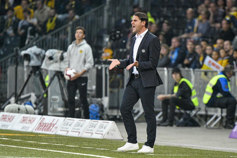 YB-Trainer Gerardo Seoane kassierte im Oktober die erste Niederlage in der laufenden Meisterschaft gegen den FC Luzern.