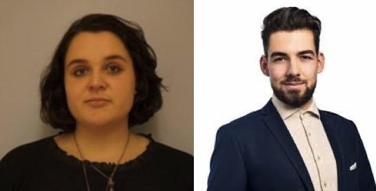 Lorena Stocker und Nicolas A. Rimoldi lehnen die Steuervorlage des Bundes ab.