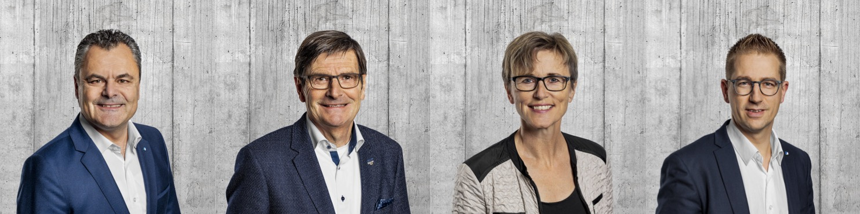 Bei der FDP treten die vier Bisherigen Georg Dubach, Daniel Gloor, Rosy Schmid und Jim Wolanin wieder an.