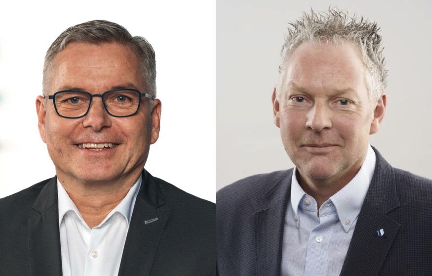 Markus Hess (links) und Andreas Hofer sitzen für die Grünliberalen respektive die Grünen im Kantonsrat.